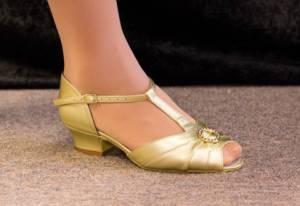 Ballroom shoe 10
