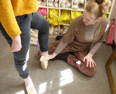 Pointe fitting 10